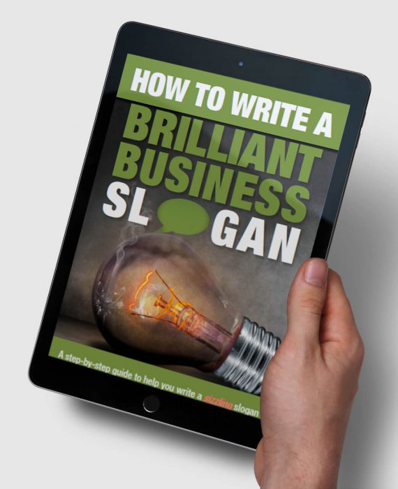 How to write a brilliant business slogan - A step by step guide