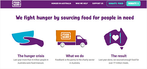 Food Bank - We fight hunger by sourcing food for people in need