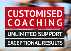 The Fast Twitch Performance business slogan is: Customised coaching. Unlimited support. Exceptional results.